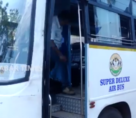 ksrtc attacked