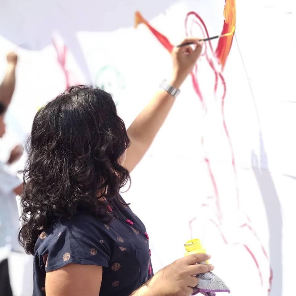 painting-durga