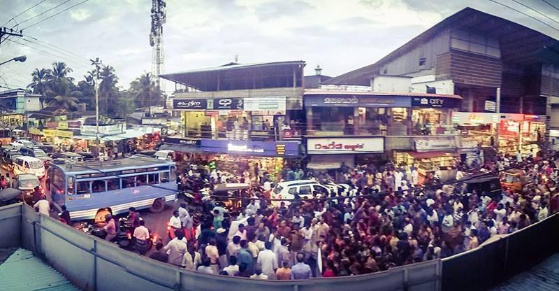 valiyakunnu-protest
