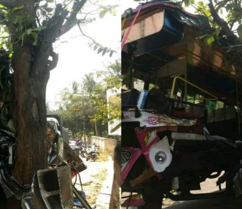 edavanna bus accident