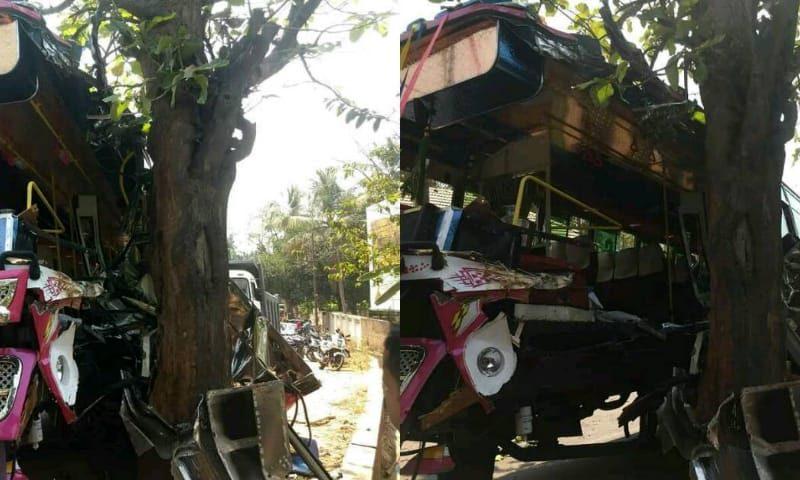 edavanna bus accident