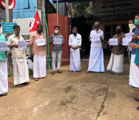 cpim-councilor-resignation-protest-valanchery