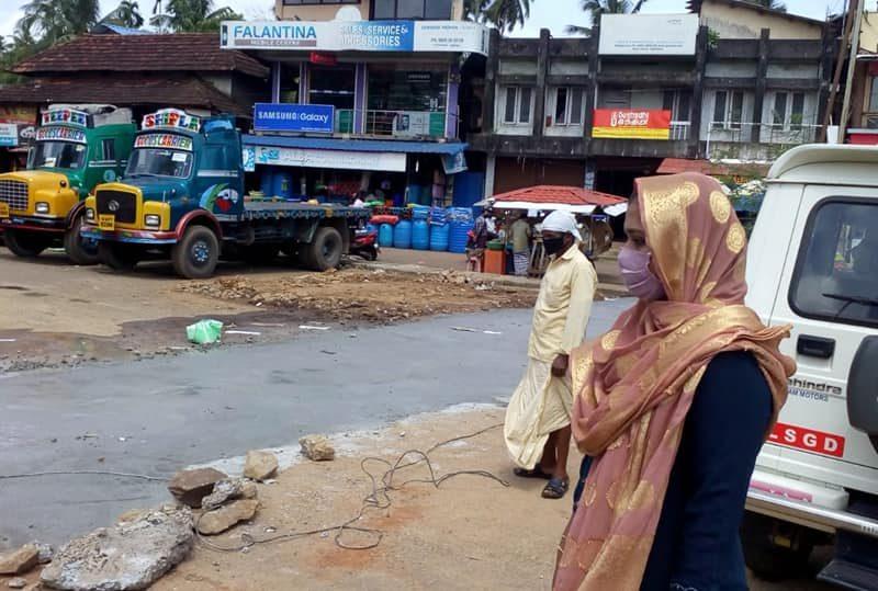kuttippuram-bus-stand-work