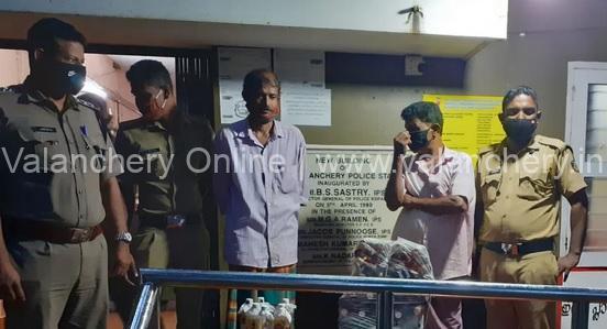 kalpakanchery-liqor-seized