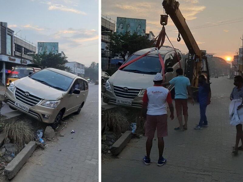 angadippuram-innova-crash-rob