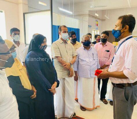 mla=kuttippuram-hospital-visit