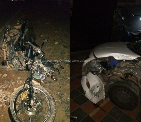 valiyakunnu-bike-car-accident